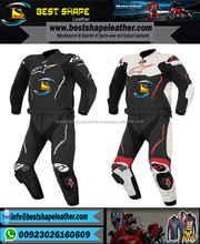 Customize motorcycle racing leather 2 piece suit for men in all sizes