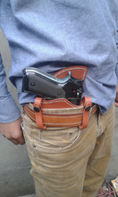 gun holster concealed carry leather handmade works