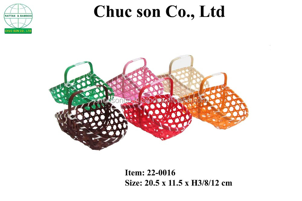Eco-friendly Bamboo Basket Vietnam/vietnam bamboo bowl/unique bamboo products from vietnam