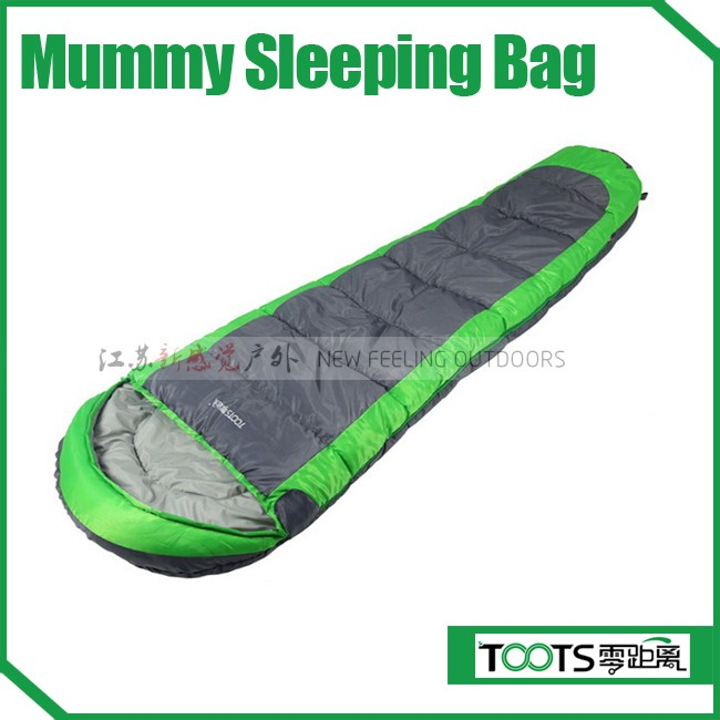 High quality down sleeping bag camping,mummy goose down camping sleeping