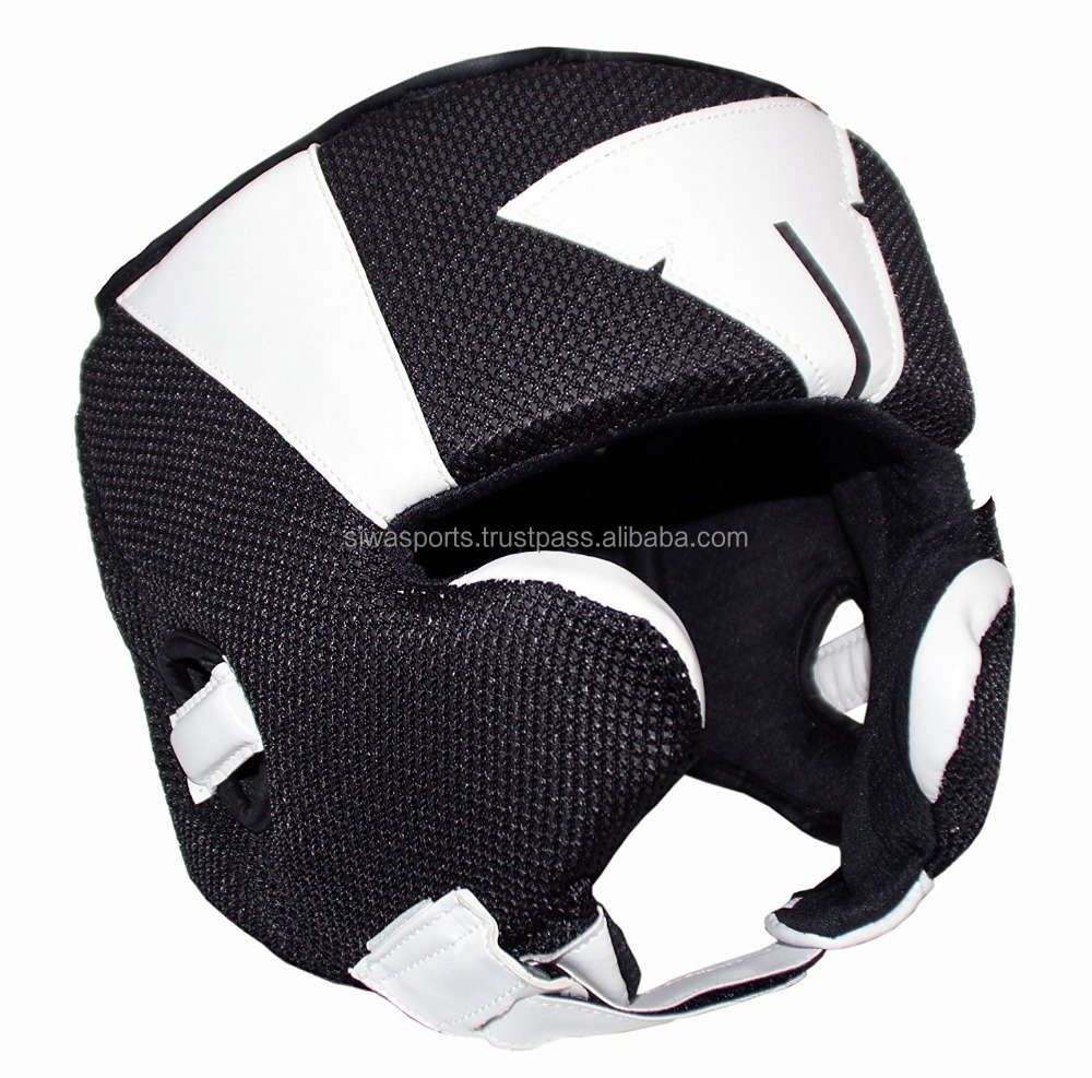 Competition Headgear Boxing Head Guard MMA Equipment Gear Golden Gloves