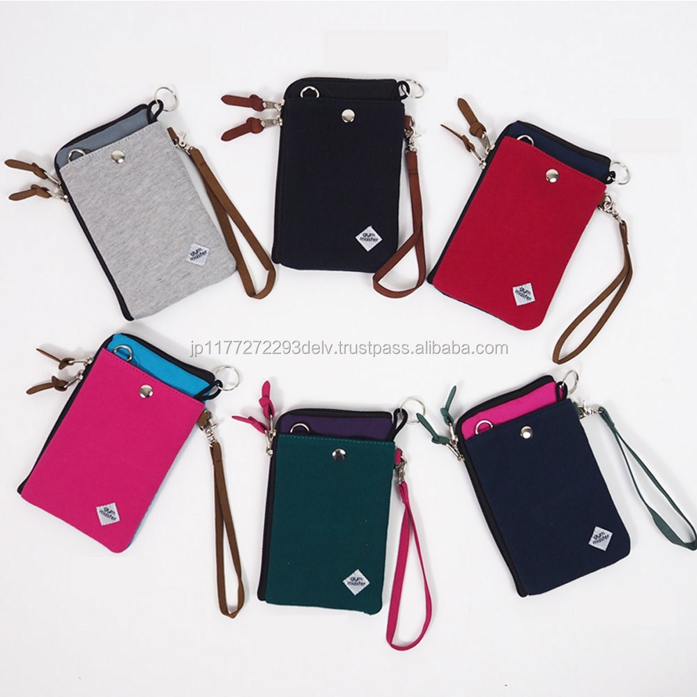 Unique shoulder name brand cell phone cases in 6 colors