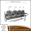 Excellent Grade Commercial Gas Waffle Making Machine with Multiple Plates