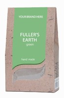 Bulgarian Green Fuller's Earth/Clay, 100% Natural Product And Hand Made - 250 g. Private Label Available. Made in EU.