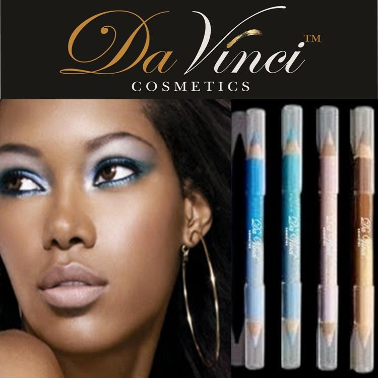 Wholesale Eye Pencil brand with 12 pencils and 24 colors with Da Vinci Cosmetics