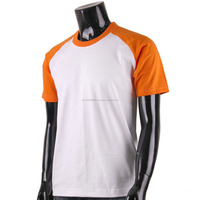 Mens Short Sleeve Raglan Slim Fit