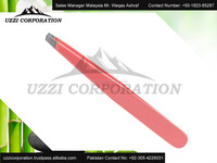 Hot Sale Top Quality Best Price Square Tip Eyebrow Tweezers and Novetly Diamond