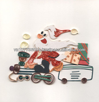 Christmas Quilling card (new card) handmade