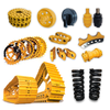 Made in Korea undercarriage spare parts, track roller spare parts, excavator parts for sale
