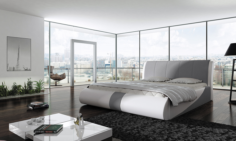 upholstered bed furniture PRESTO