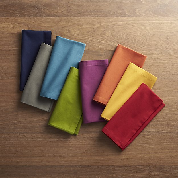 Table Napkin, Colored, 100% Cotton Damask, 43cmX43cm