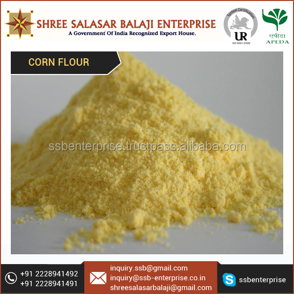 Corn Flour - Yellow Cornmeal Supplier