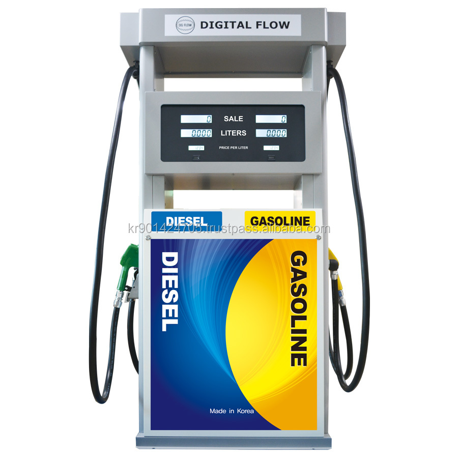 Dual fuel dispenser price / fuel pump dispenser