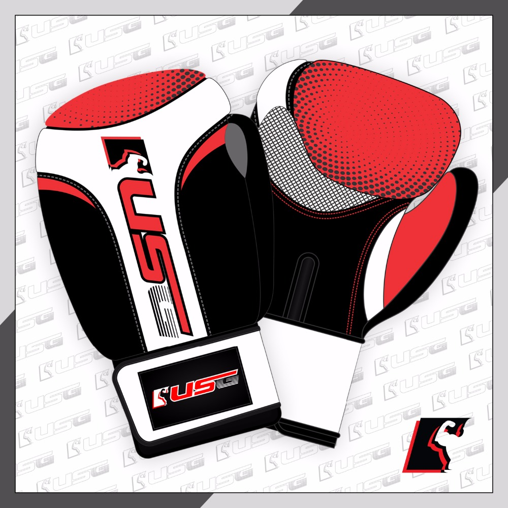 USG Boxing Professional Fight Gloves