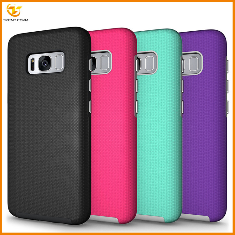 2017 hot new products combo shockproof back cover for samsung galaxy S8