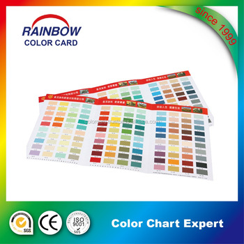 Top Quality Deposit Printing Decorating Painting Color Swatch
