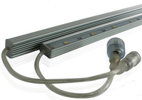 Singapore, IP68 Aluminum Linear Rigid LED Light Bar, 0.3M, 0.5M, 0.6M, 1.0M, 1.2M, DC12/24V, Waterproof IP68 Aluminum Linear LED
