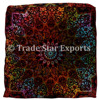 Large Meditation Dog Pillow Case Ethnic Mandala Pet Bed Square Pillow sham