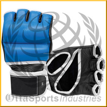Boxing Gloves Fancy Tattoo Print Muay Thai Kickboxing Fitness MMA Sparring Practice Punching Bag Gloves Stock