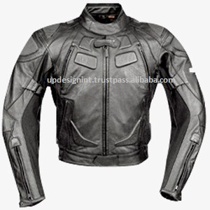 Dredd Style RACING BIKE JACKET CE APPROVED PROTECTION/MOTORCYCLE RACING LEATHER JACKETS