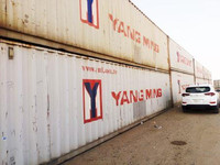 Used shipping container, Jeddah saudi arabia