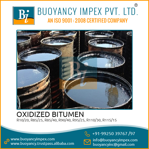 Widely Used Oxidized Bitumen/Blown Bitumen Manufacturer