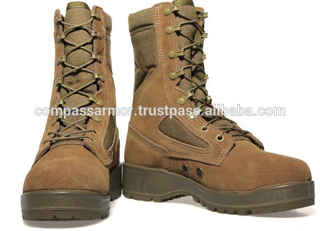 "8""Temperature tactical Boot Green Olive Shoes"