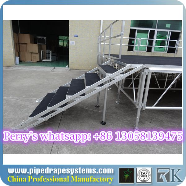 Outdoor portable staging furniture for sale for concerts/weddings events on sale