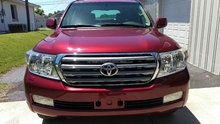 Used LHD Toyota Land Cruiser V8 2012