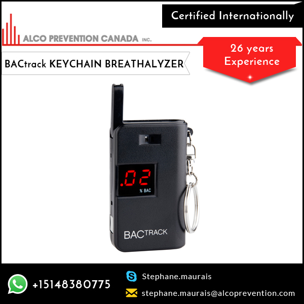 Simple & Intuitive Operation Home Test Product BACtrack Keychain Breathalyzer