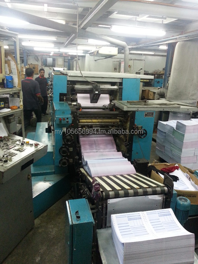 Narrow Web Continuous Form Printng Machine