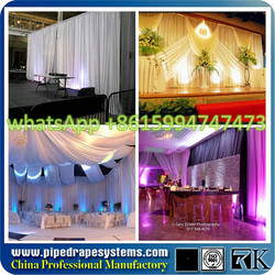 drapery hardware portable pipe and drape kits wedding pipe and drape