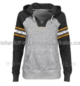 oem high quality womens hooded sweatshirt