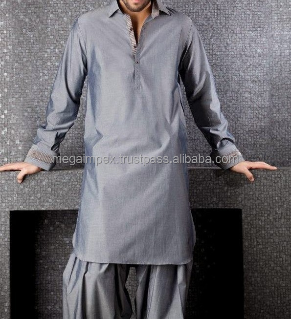 kurta shalwae -Royal Blue Kurta Shalwar Designs for Men
