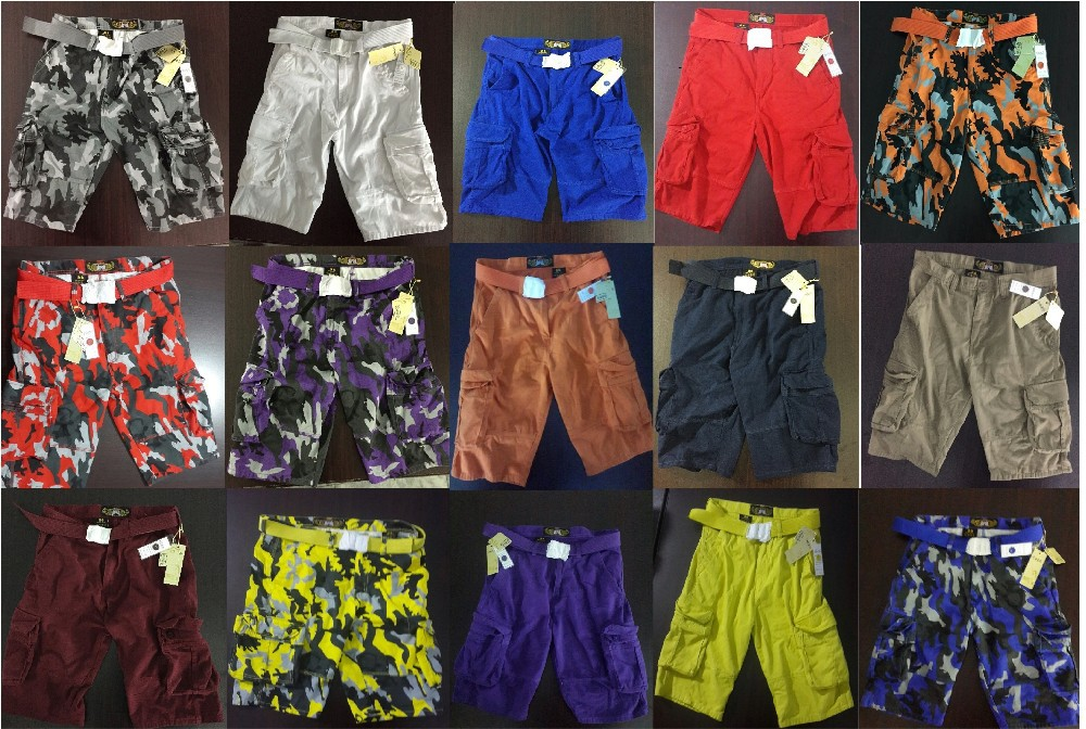 Cargo shorts size 30 to 50 USA In stock-ready to ship
