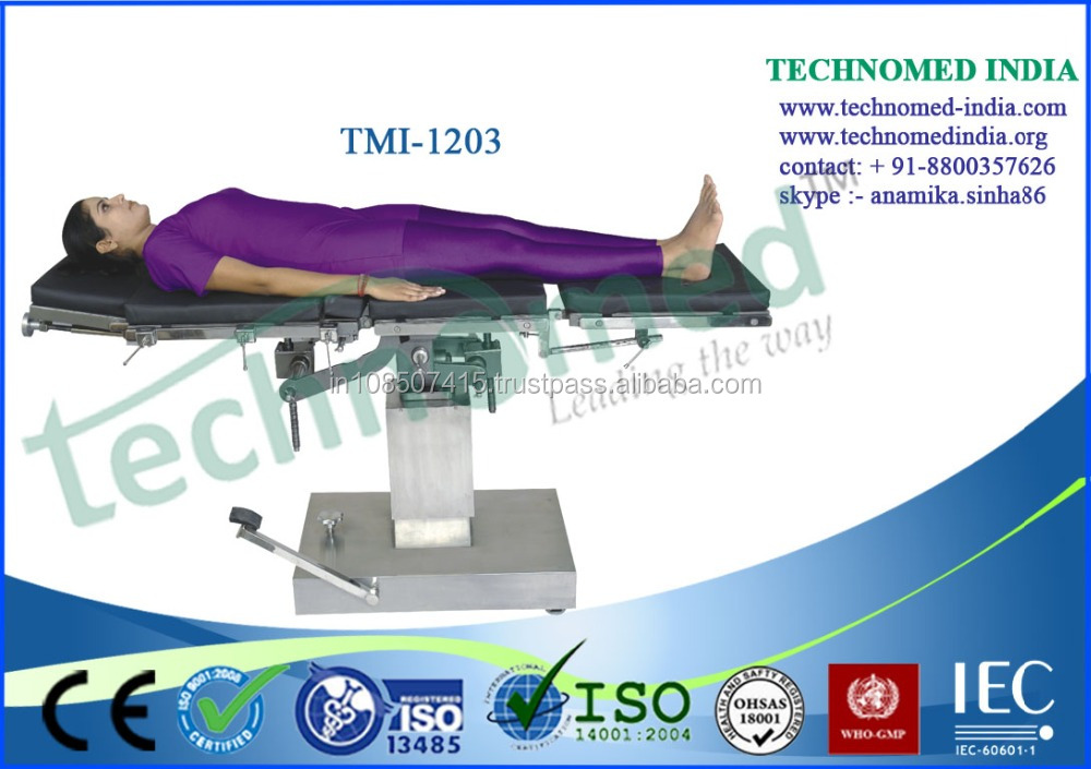 Multi Electronic Hydraulic Urology Operation Table Factory