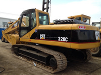 second-hand/used 320C CAT excavator high quality and low price, also have 330BL,330B, 325CL for sale