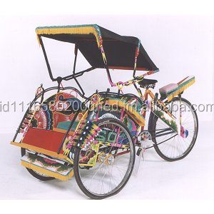 Becak Pedicab Indonesia
