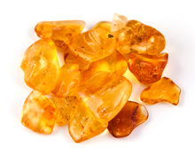 Natural Baltic amber stones