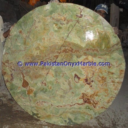 Multi Green Onyx Table Top - Onyx Coffee Table Tops for Sale