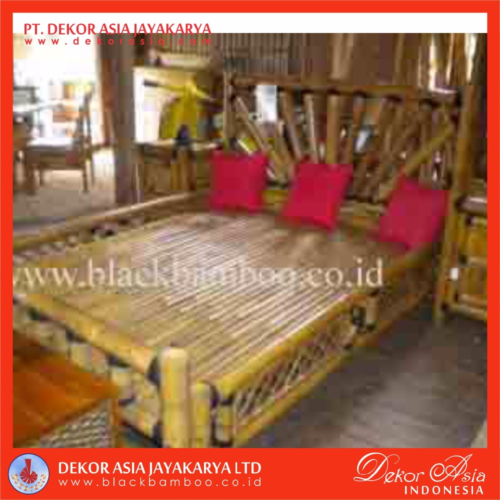 Traditional Bamboo Bed