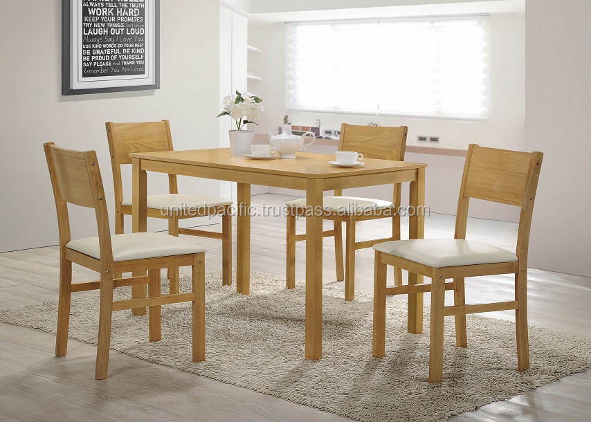dining room furniture / wooden dining table and chair
