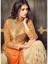 Georgette Designer Suit/ Womens Salwar Kameez Online/ Online Shopping Of Anarkali