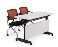 Foldable & Moveable Meeting Table