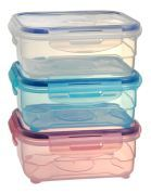 910 ml New design plastic boxes storage food