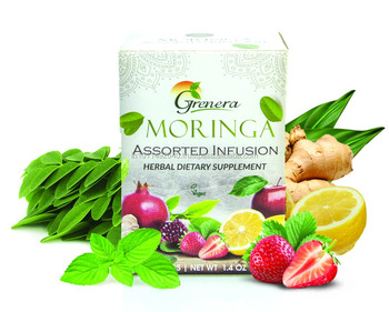 Organic Certified Moringa Original Tea
