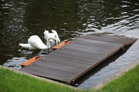 WPC/wood polymer composite, outdoor woterproof wpc decking