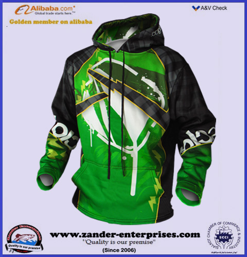 Sublimated hoodies best quality production offered