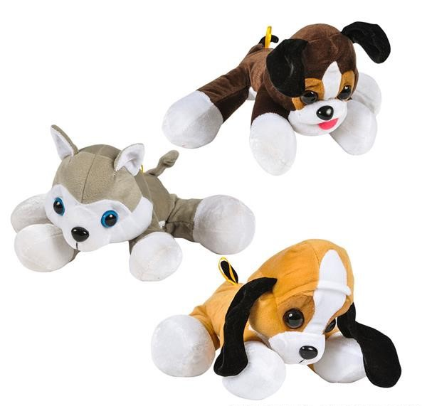"13.5 "" DAWGIE DOG MIX en peluche"