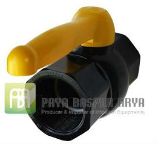 Female Connection Plastic UPVC Compact Ball Valve 4""